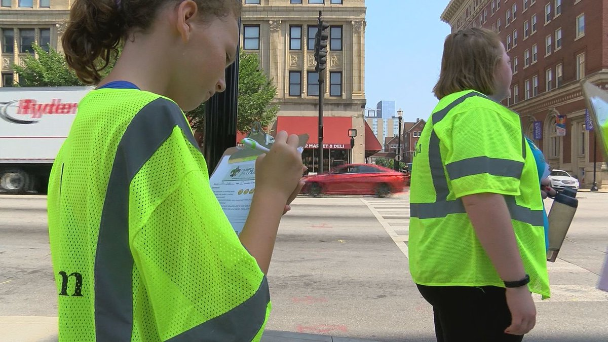Volunteers from various organizations hit the streets to check out safety progress. (Source:...