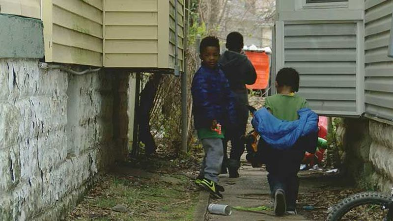 Neighbors told us they're upset over the homicide that happened so close to home. (Source: WAVE...
