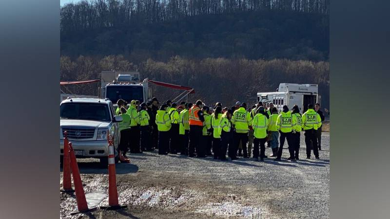 Crews continue their search for the bodies of 3-year-old Nylo Lattimore and 6-year-old James...