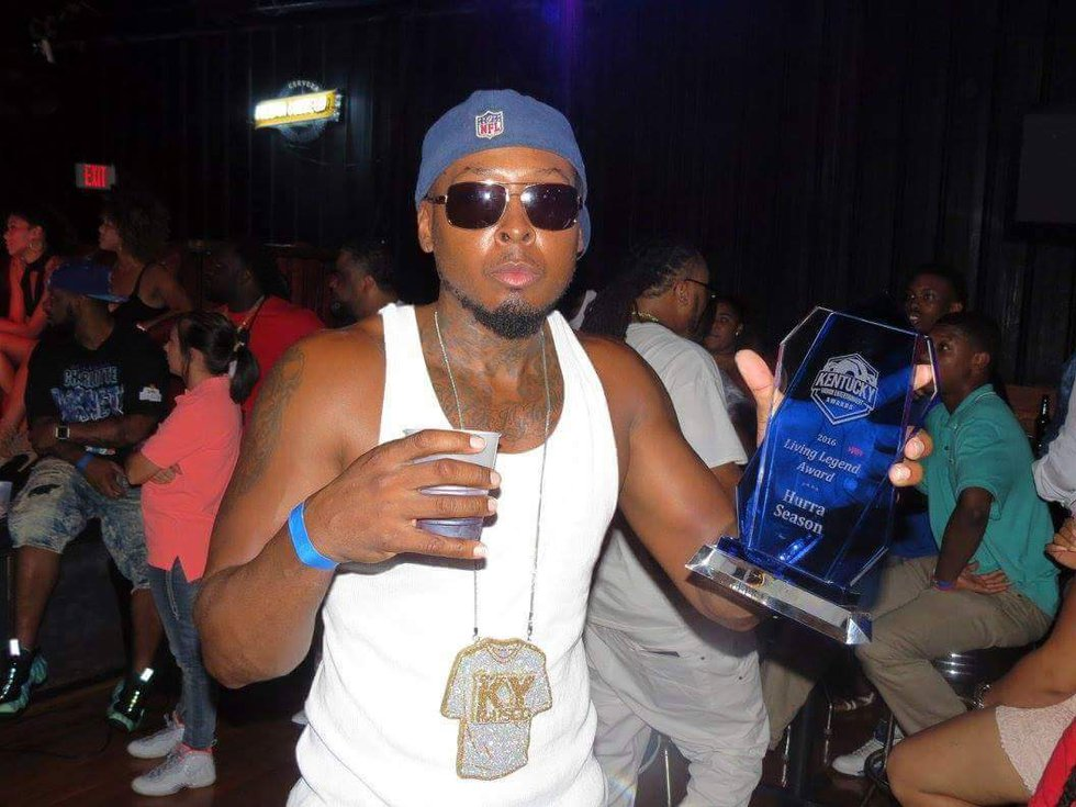 Hurra Season was given one of two Living Legend awards at the Kentucky Urban Entertainment...