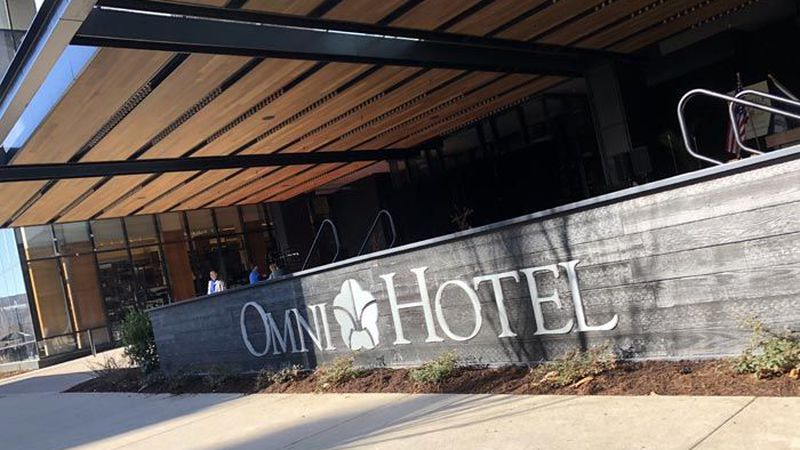 The Omni Hotel opened in downtown Louisville on March 6, 2018. (Source: John P. Wise/WAVE3.com)