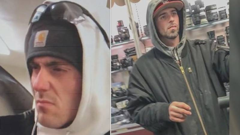 The two men are wanted by LMPD in connection to theft in the Highlands.