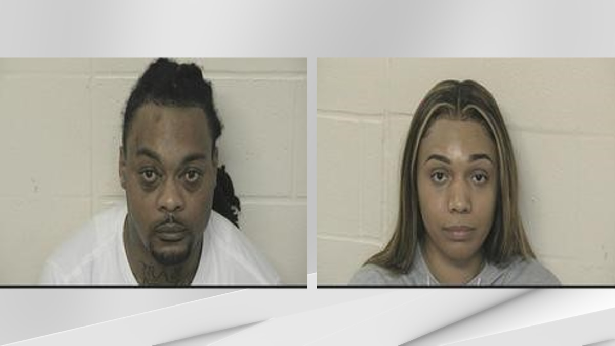 Derek Ellis, 39, and Tyesha Bell, 31, have been arrested after troopers find two pounds of...