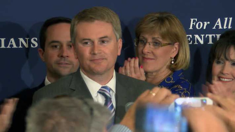James Comer addresses his supporters on primary election night. (Source: Miles Jackson, WAVE 3...