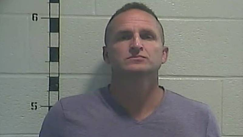 Former LMPD Det. Brett Hankison was booked and released from jail in Shelby County, Kentucky on...