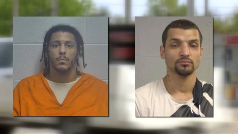 Cameron Burnett and Timothy McCurley were arrested on federal carjacking charges for their...