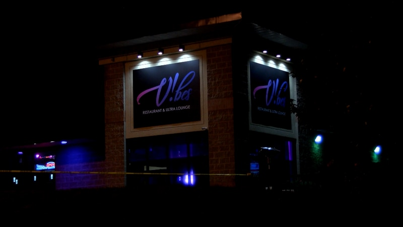 Calls came in to police around 1:30 a.m. Saturday on reports of a shooting at Vibes Restaurant...