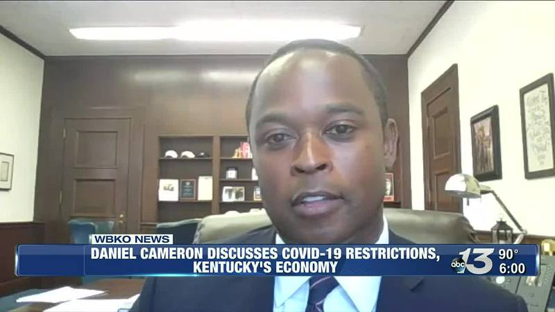 Daniel Cameron Discusses COVID-19 Restrictions, Kentucky's Economy @ 6