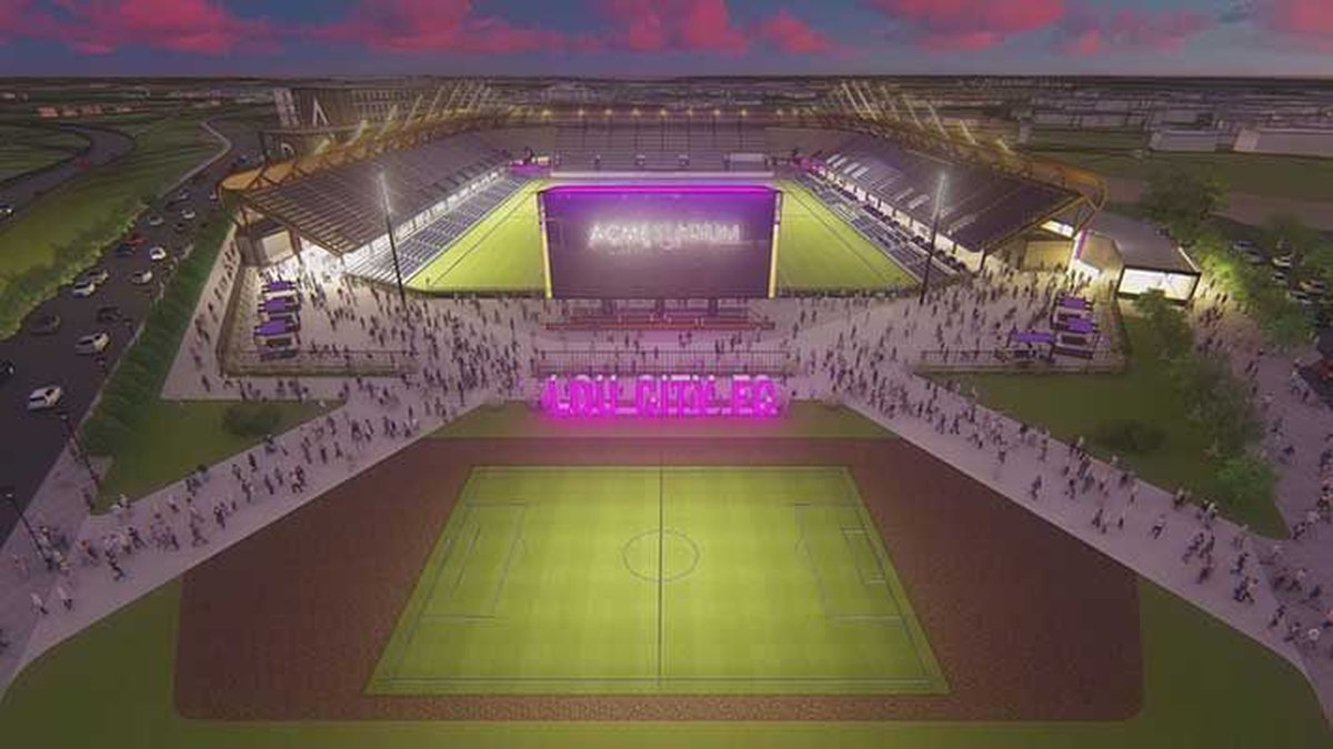 The $65 million stadium is expected to open in early 2020. (Source: Lou City FC)