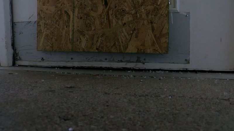Sister Visitor Center in West Louisville boarded up its windows and doors after a string of...
