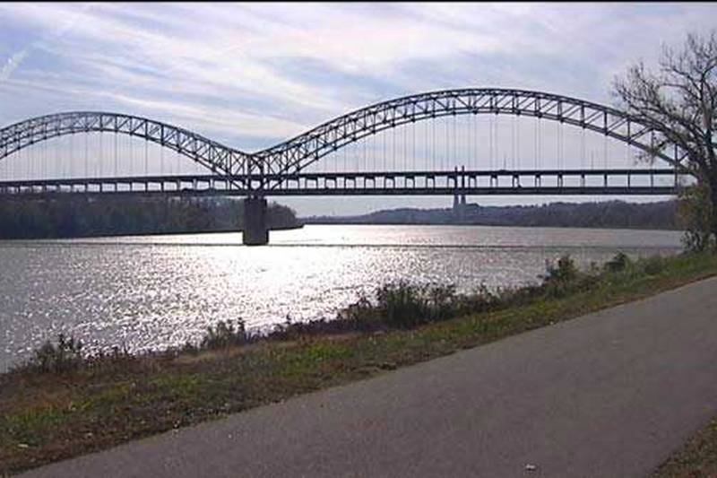 Drivers on the Sherman Minton Bridge, which connects Louisville and New Albany, Ind., will...