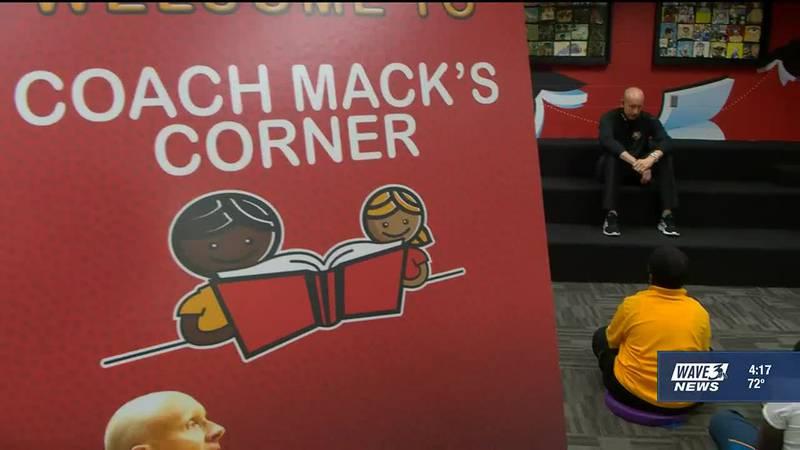 University of Louisville men's head basketball coach Chris Mack held to open the sixth Coach...