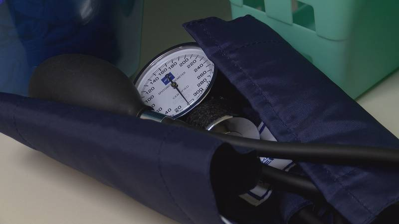 Temperature and humidity can play a role in blood pressure fluctuations.  (Source: WALB)