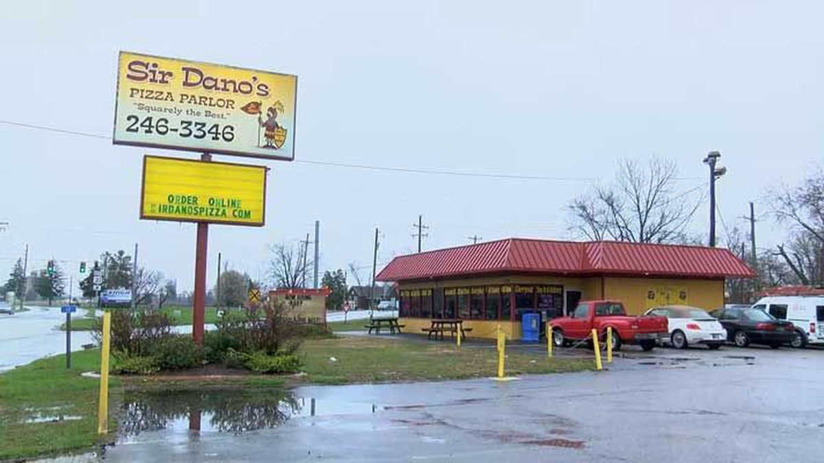 Sir Dano's was robbed on Monday night. (Source: WAVE 3 News)