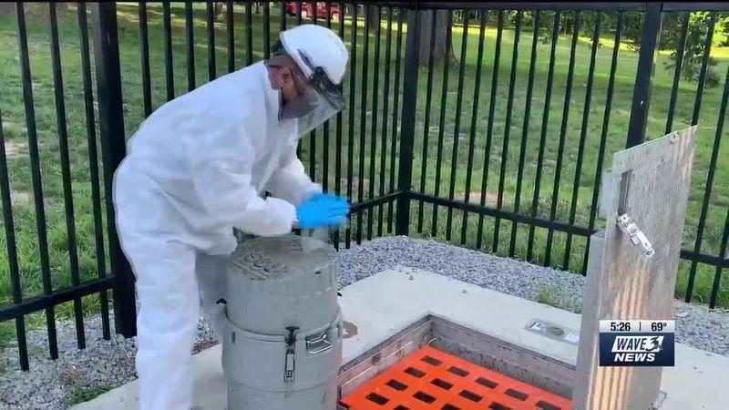 The Brazilian strain of the coronavirus was detected in Jefferson County wastewater.