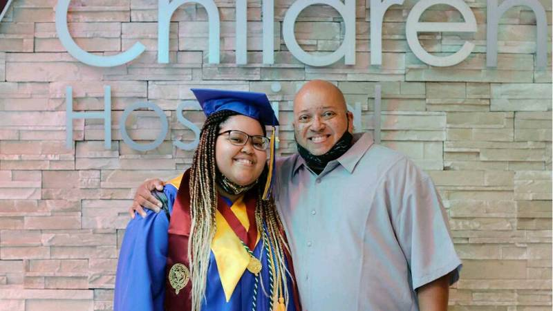 Valley High School surprises graduate with ceremony while she waits for heart donor.