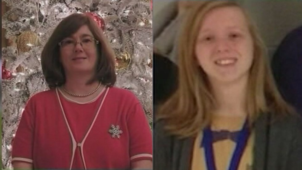 The mother and daughter were killed in 2014.