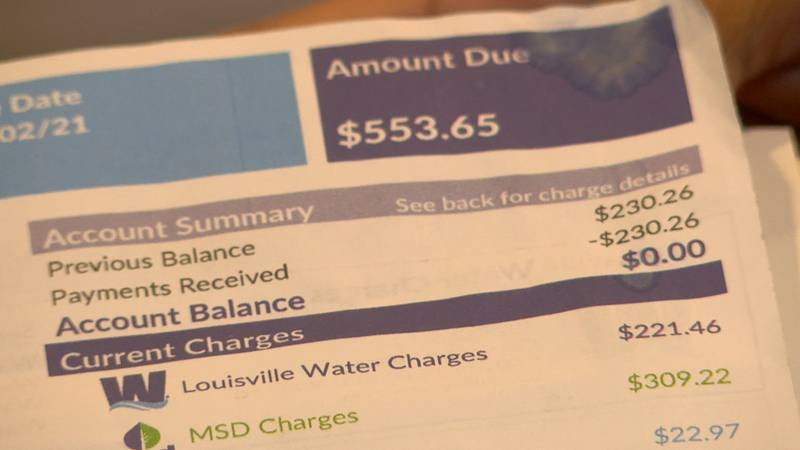 Several people have told WAVE 3 News their most recent water bills have been drastically higher...