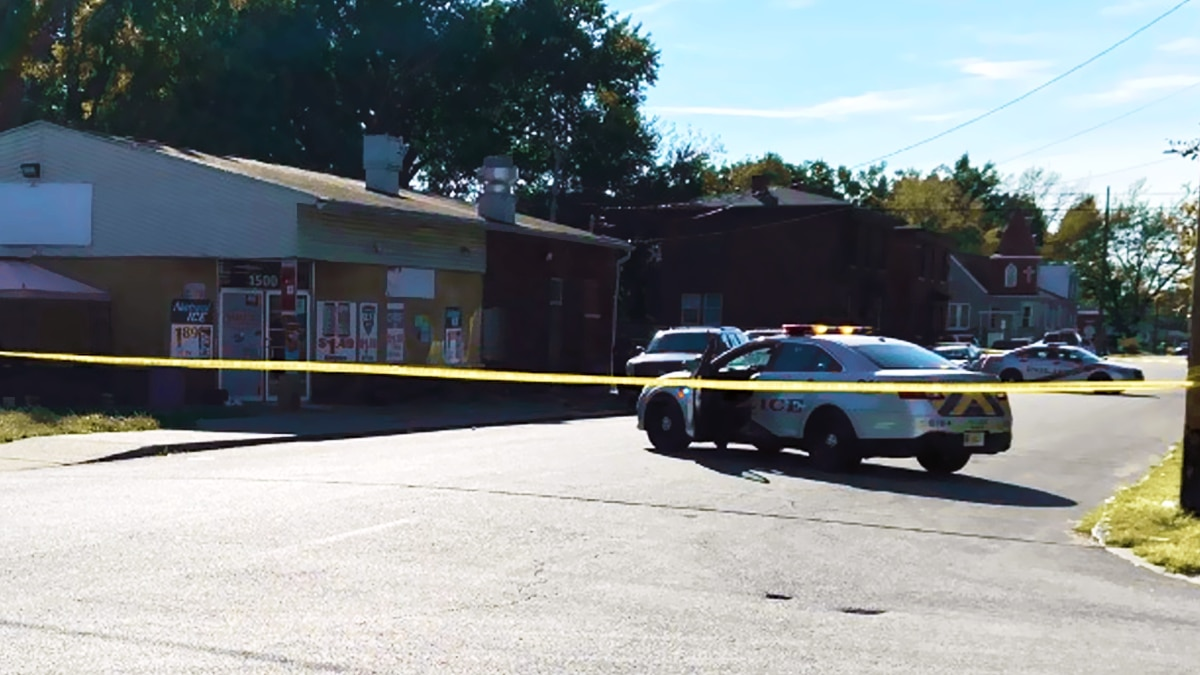An LMPD shooting investigation on Hemlock Street and Southern Avenue