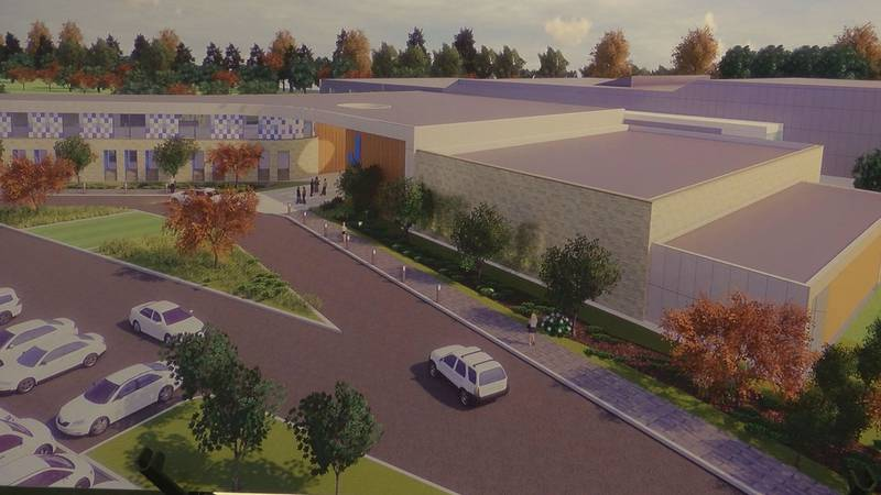 This is what the new facility may look like on Dutchmans Lane. (Source: JCC)