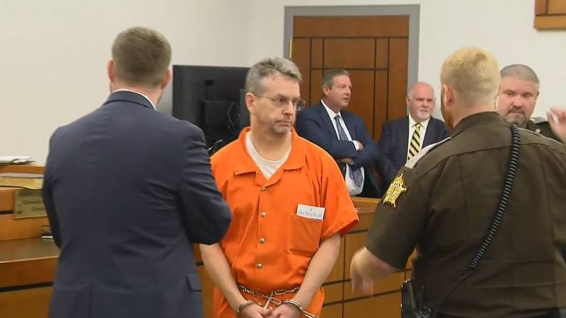 Christian Martin is accused in the murders of three people in Pembroke, Kentucky in 2015.