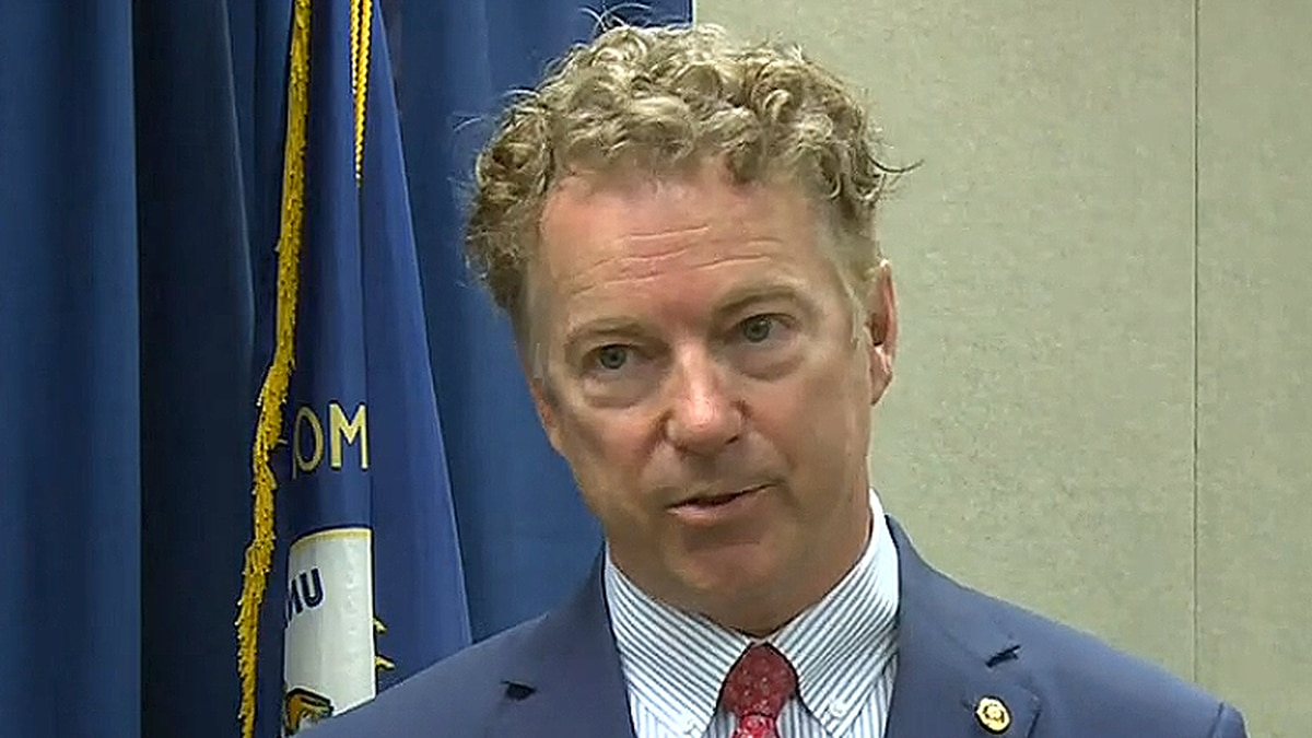 Senator Rand Paul gave a speech to the chamber of commerce in Somerset Tuesday afternoon....