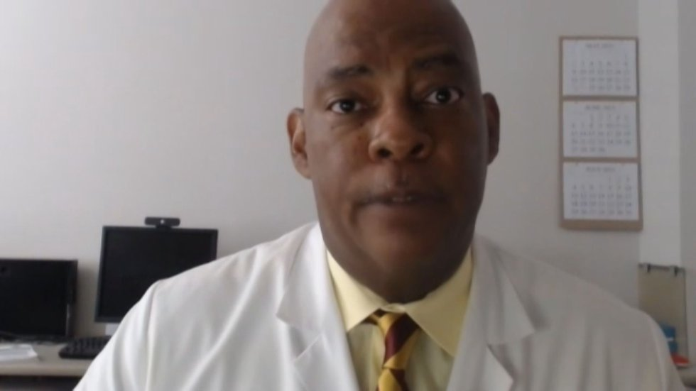 Dr. Mark Burns from UofL Health says they are seeing more people being admitted to the hospital...