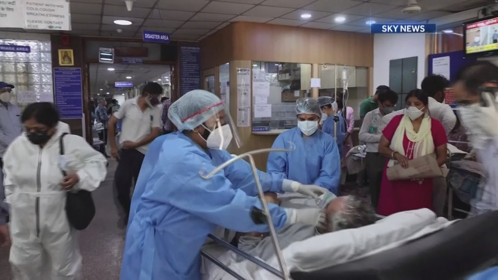 Hospitals in India don't have enough doctors, room in hospitals, or medical supplies. Even...