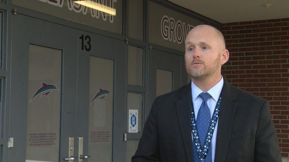 Dr. Jesse Bacon, superintendent of the Bullitt County Public Schools.