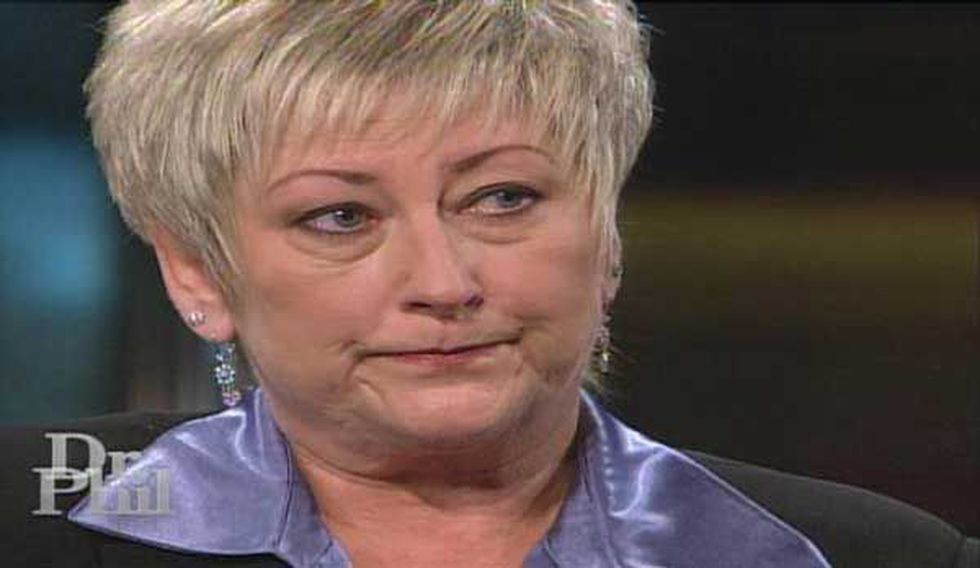 """Jacque Vaught during her appearance on """"Dr. Phil"""""""