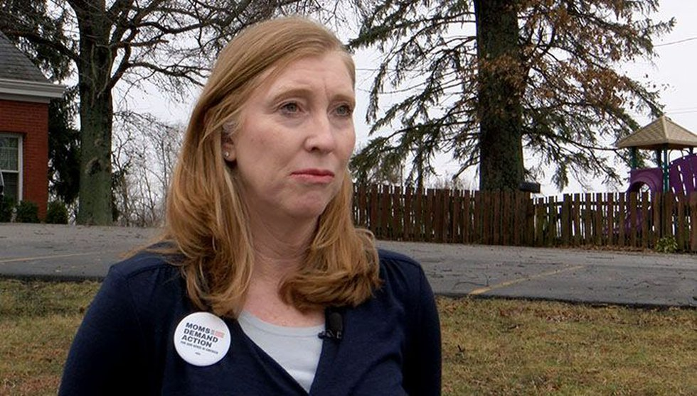 Connie Coartney, Kentucky chapter of Moms Demand Action for Gun Sense in America. (Source: WAVE...