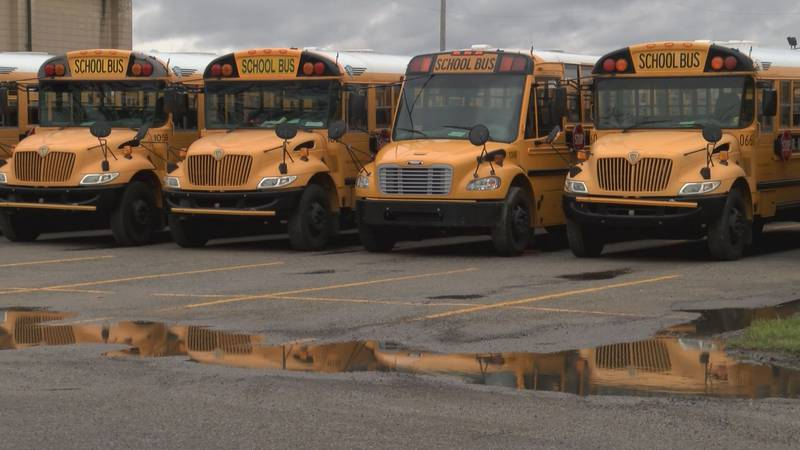 More than 65,000 students will be picked up by JCPS bus drivers when classes start Wednesday....