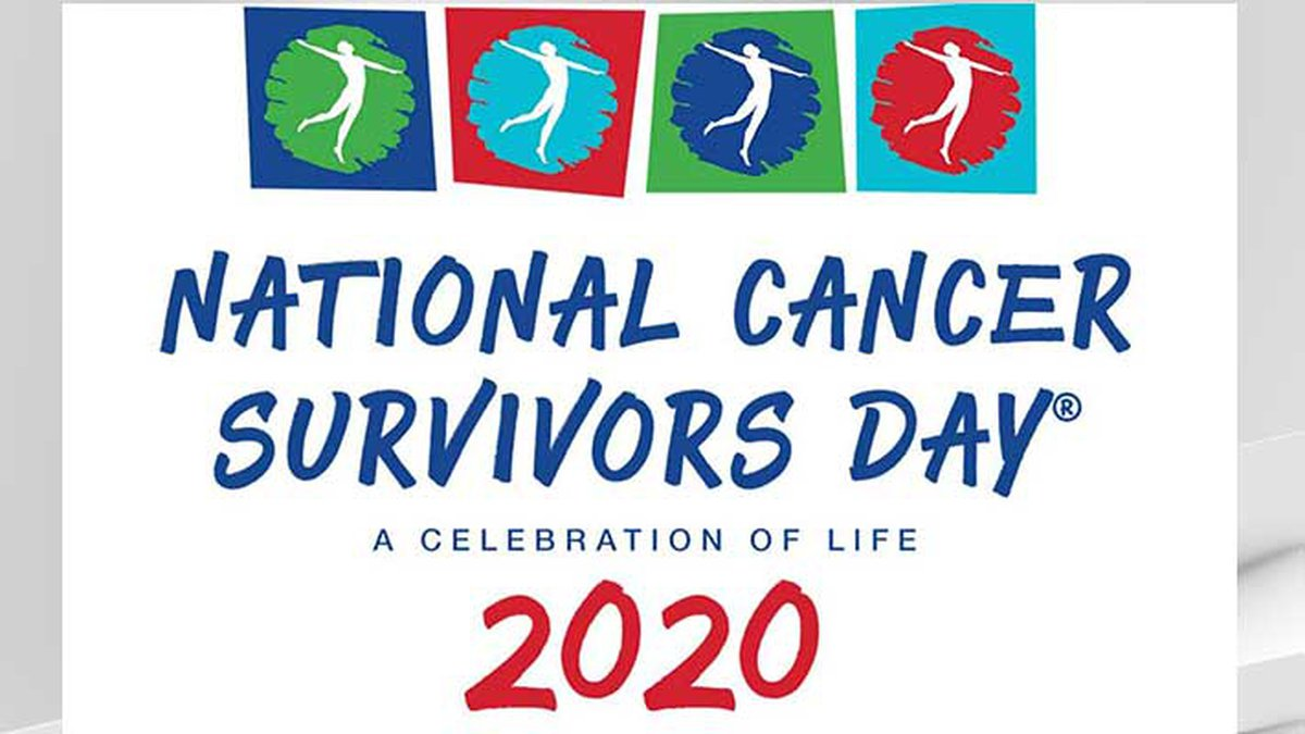 The 2020 National Cancer Survivor's Day is Sunday, June 7.