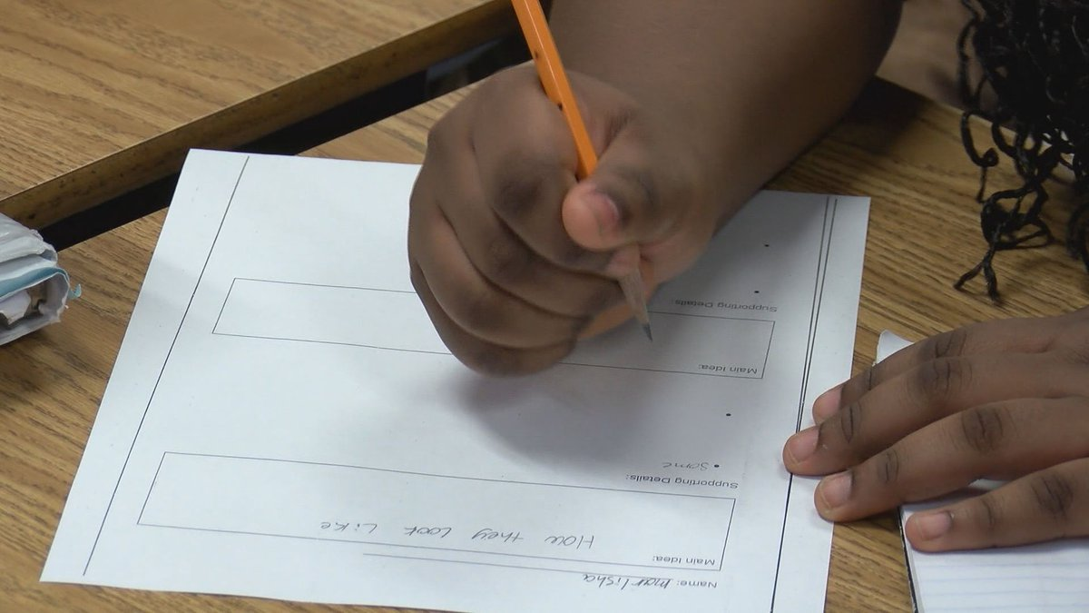 MAP testing is done several times over the school year and tracks how a student is progressing.