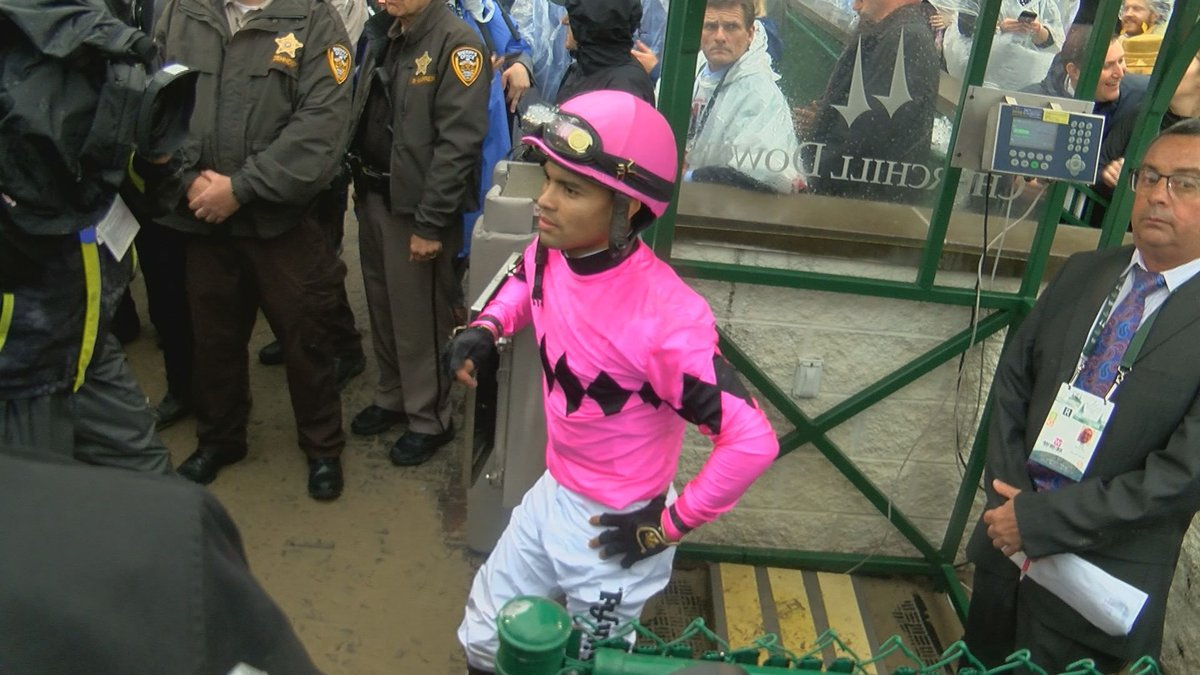 Jockey Luis Saez hired an attorney ahead of his meeting at Churchill Downs to discuss the...