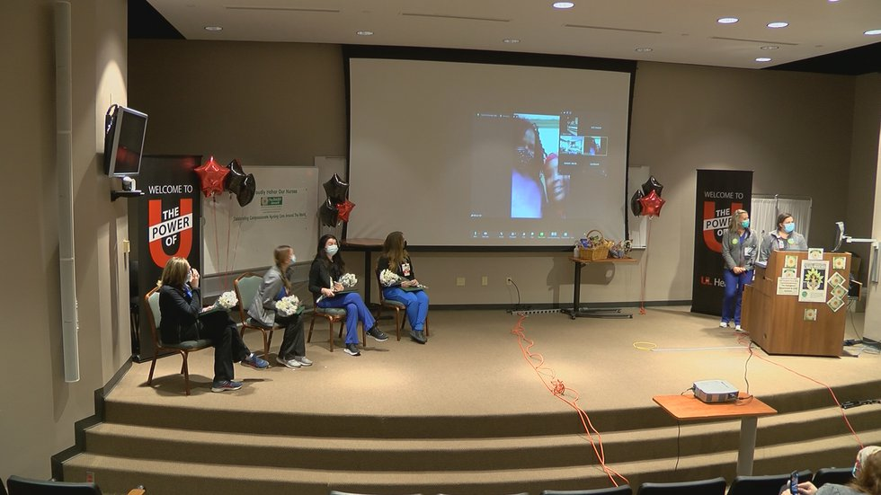 The ceremony was held at UofL Hospital Wednesday.