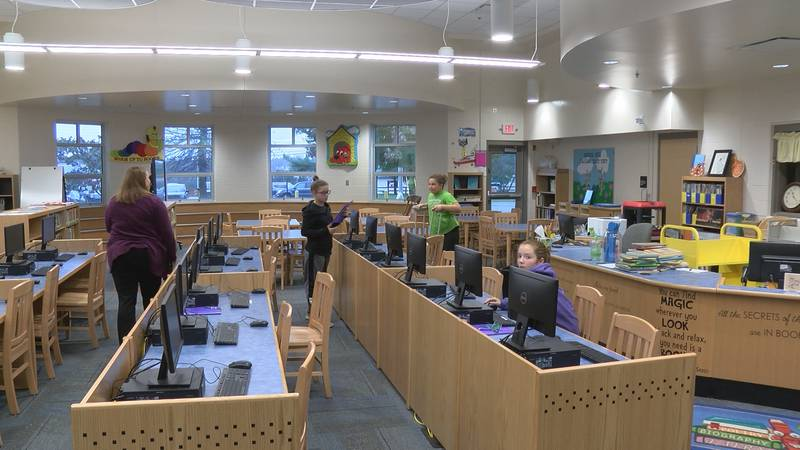 The Mt. Washington Elementary School is able to spend more money on students and teachers...