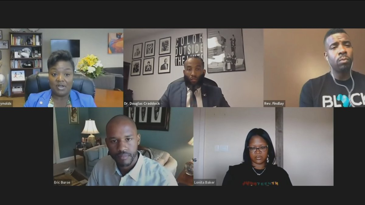 The live discussion focused on all topics related to Taylor's shooting death, and the...