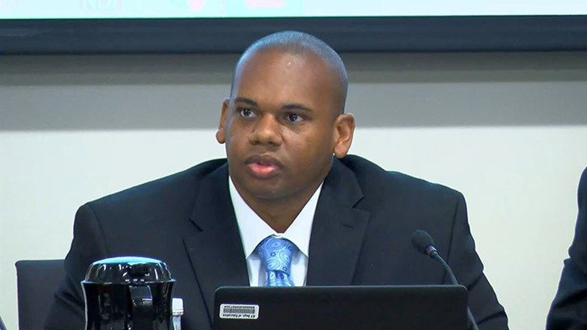 Dr. Wayne Lewis said his main goal is closing the achievement gap in JCPS schools. (Source:...