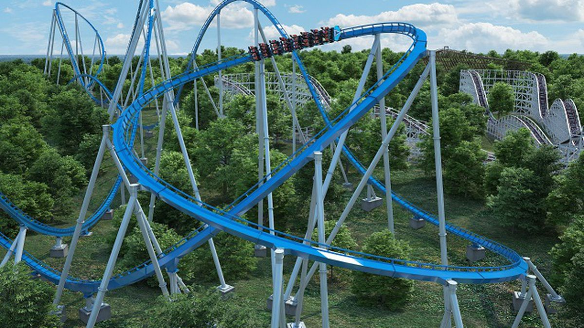 Kings Island announced the arrival of a giga coaster to the amusement park in spring of 2020....
