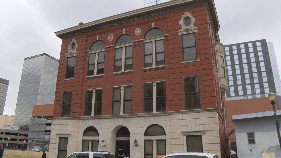The Odd Fellows building has stood at  Muhammad Ali Boulevard for over 120 years.