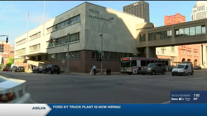 LMPD Headquarters in downtown Louisville
