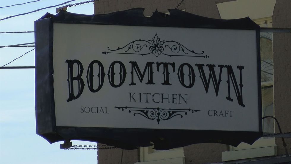 Boomtown is replacing Cox's Hot Chicken, which replaced Big Four Burgers in 2018.