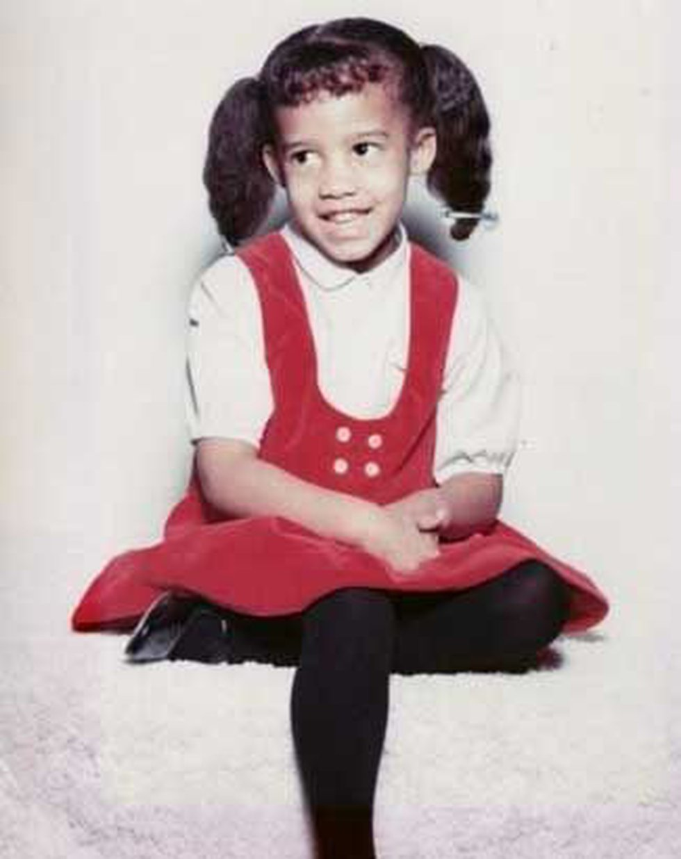 Dawne Gee at age 6 (Source: Family photo)