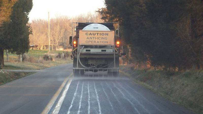 KYTC crews have started pretreating roadways throughout western Kentucky ahead of two rounds of...