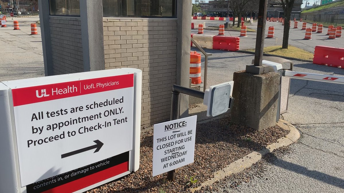 UofL Health is turning a parking lot on Brook Street between Muhammad Ali and Liberty Street...