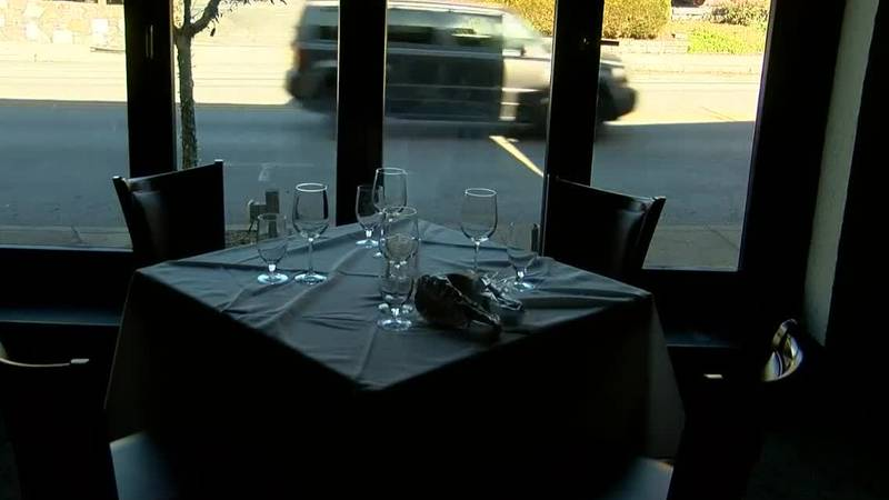 A last full night for dining room service had restaurants booked Thursday as customers tried to...