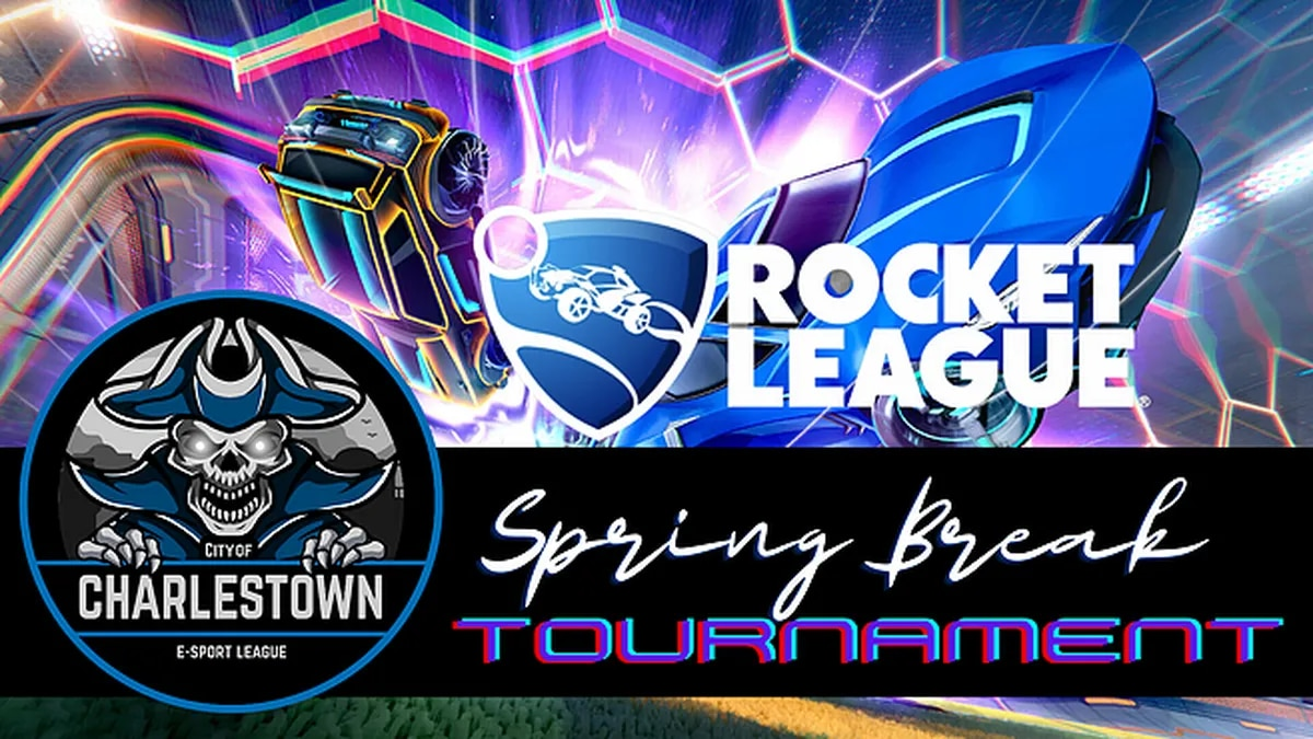 The program starts with the Spring Break Rocket League Tournament.