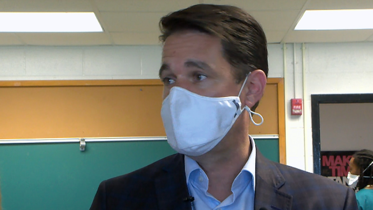 JCPS Superintendent Dr. Marty Pollio said JCPS is experiencing a need for more COVID testing.