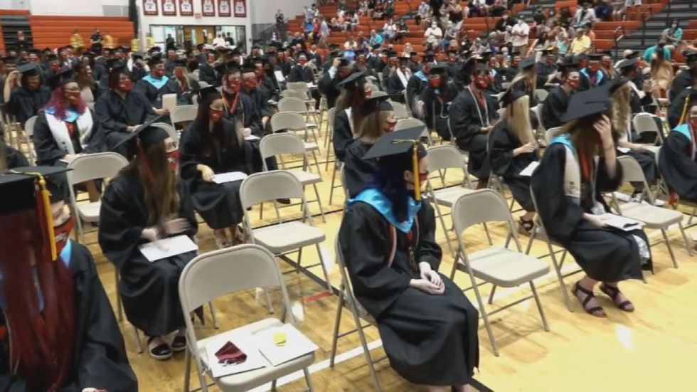 JCPS students are set to graduate following a year of non-traditional instruction.